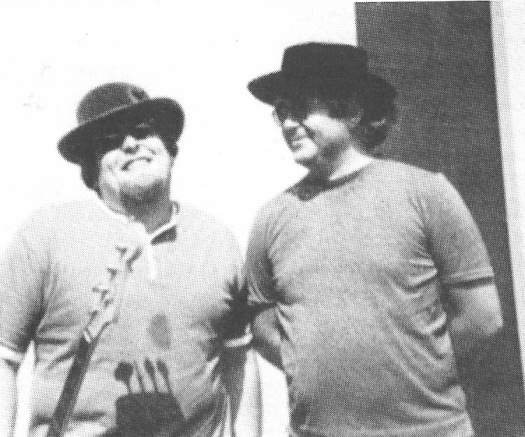 Harbvey Brooks and Albert Grossman