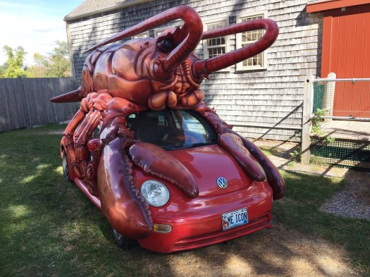 VW lobster car
