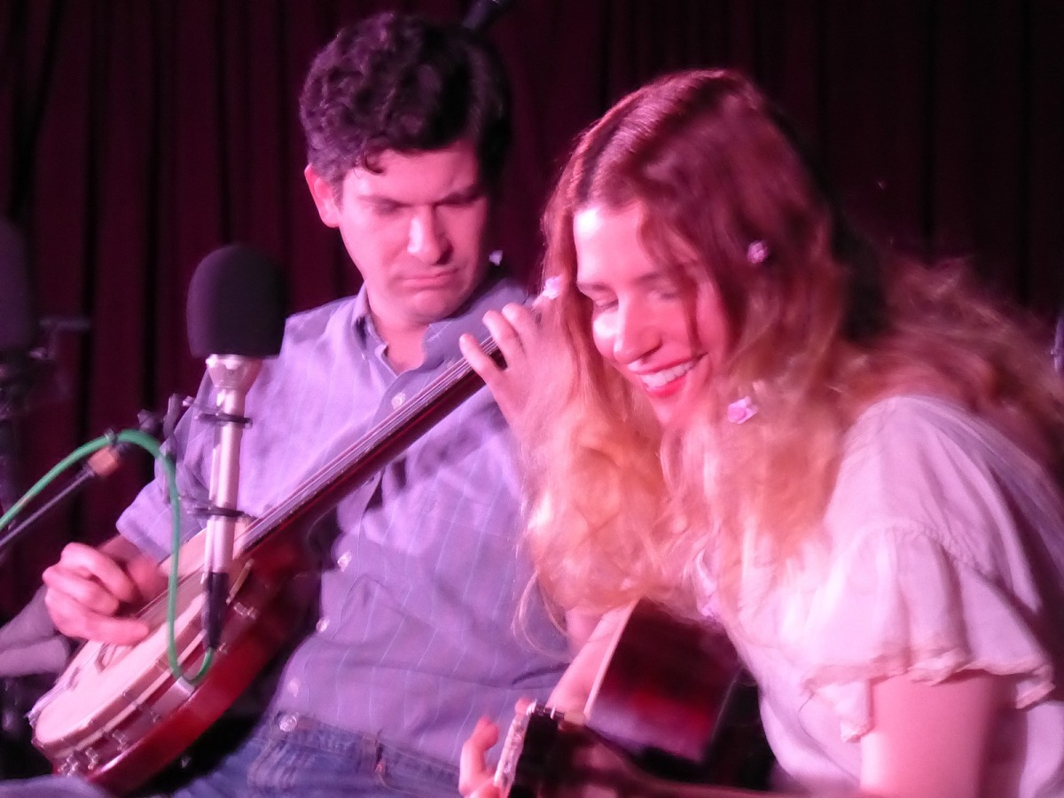 Frank Fairfield and Meredith Axelrod